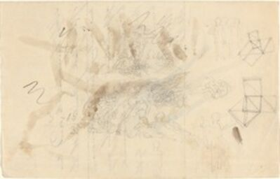 John Flaxman, 'Angels Descending to the Daughters of Men', probably c. 1821