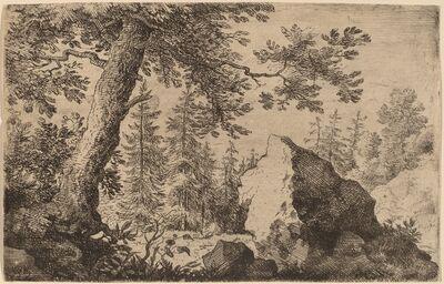 Allart van Everdingen, 'Boulder in the Woods', probably c. 1645/1656