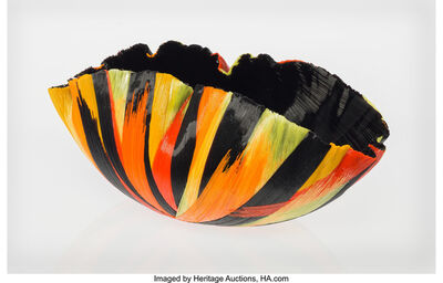 Toots Zynsky, 'Fire Chaos Bowl'