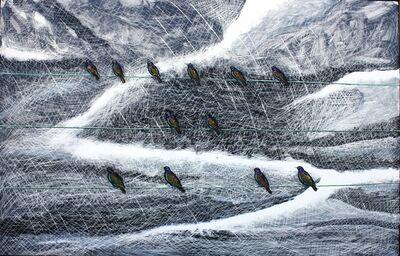 "John Borden Evans, '""Twelve Starlings""', 2012"