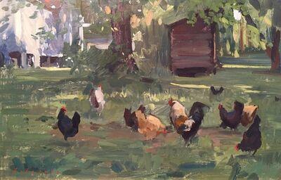 Marc Dalessio, 'Chickens', 2018