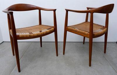 Hans Jørgensen Wegner, 'The chairs (pair)'