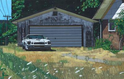 Doug Fraser, 'Camaro & Garage', ca. 2017