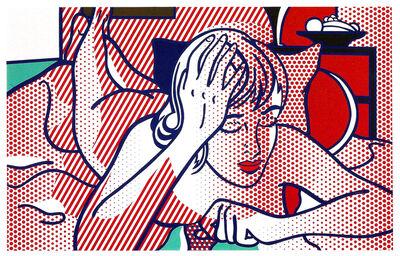 Roy Lichtenstein, 'Thinking Nude, State I', 1994