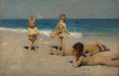 John Singer Sargent, 'Neapolitan Children Bathing', 1879