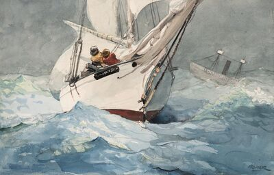 Winslow Homer, 'Diamond Shoal', 1905