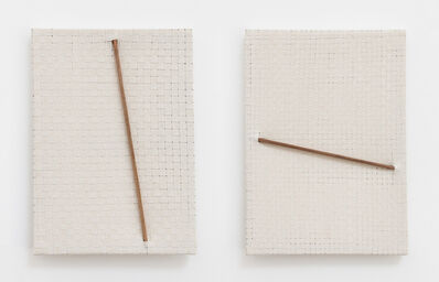 Jarbas Lopes, 'Pintura Elástica (diptych)', 2015