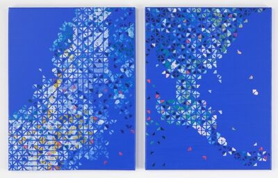 Cecilia Biagini, 'Relation of production, diptych', 2012