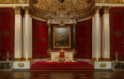 Christian Voigt, 'The Small Throne Room', 2018