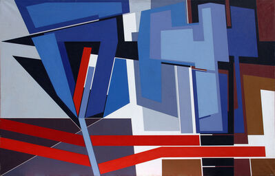 Gualtiero Nativi, 'Situazione di contrasto', 1983