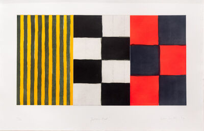 Sean Scully, 'Yellow Red', 1994