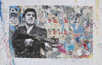 Mr. Brainwash, 'Al Pacino', 2017