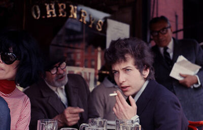 Daniel Kramer, 'Bob Dylan at O'Henry Cafe, New York', 1965