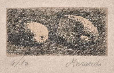 Giorgio Morandi, 'Nature morte con pane e limone (Still Life with Bread and Lemon)', ca. 1921