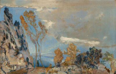 Arthur Bowen Davies, 'On the Heights'