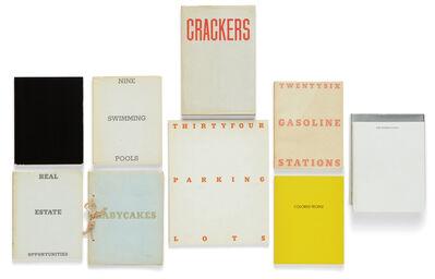 Ed Ruscha, 'Selected artist's books', 1962-1972