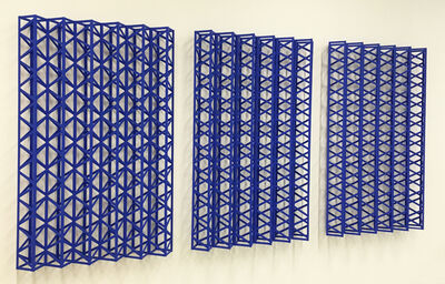 Rasheed Araeen, 'Neeley Hey Neeley (Blues 'n Blues)', 2016