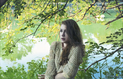 Yigal Ozeri, 'Untitled; Megan in the Park', 2011