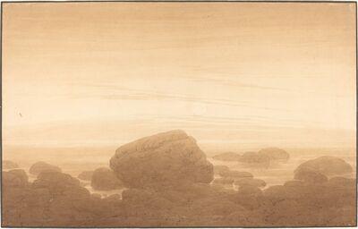 Caspar David Friedrich, 'Moonrise on an Empty Shore', 1837/1839