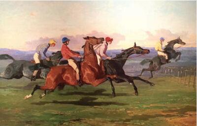 Alfred De Dreux, 'The Race', 20th Century