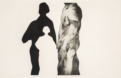 Michael Mazur, 'The Artist and Her Shadow'