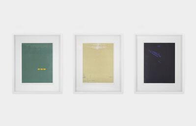 Alex Katz, 'Triptych: Northern Landscape (Fog, Bright Light, Night)', 1992