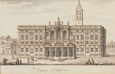 Francesco Zucchi, 'A view of Santa Maria Maggiore, Rome'