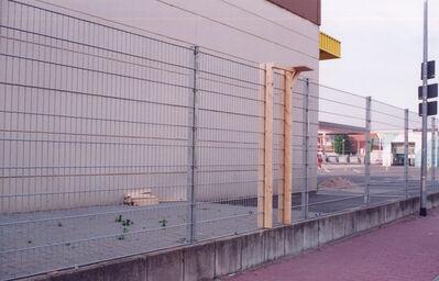 Tue Greenfort, 'Untitled (Leiter über Zaun)', 2001