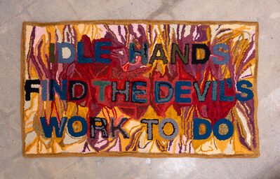 Jessie Homer French, 'Idle Hands Find the Devil's Work to Do', 2018