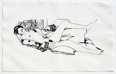 Tom Wesselmann, 'Monica Nude with Matisse', 1992