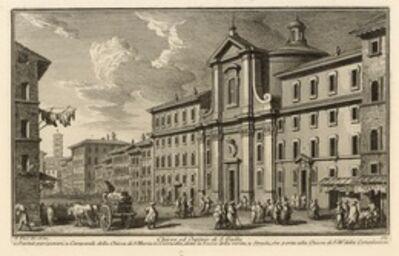 Giuseppe Vasi, 'Chiesa ed Ospizio di S. Galla', 1747-1801