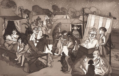Paula Rego, 'The Encampment', 1989