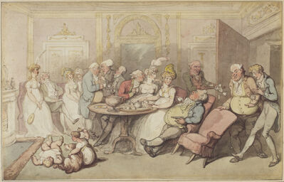 Thomas Rowlandson, 'After Dinner', ca. 1805