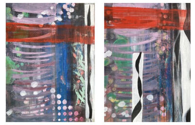 Sandra Wolfson, 'Echos of Time and Space 1 & 2', 2020