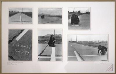 Lotty Rosenfeld, 'Una milla de cruces sobre el pavimento / A mille of crosses on the pavement', 1979