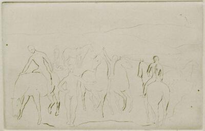 Pablo Picasso, ' L'Abreuvoir (Chevaux au Bain)', 1905