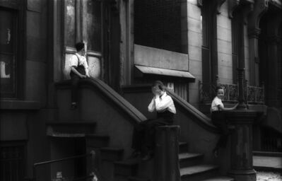 Jan Yoors, 'Untitled (Satmar Boys in Front of 550 Bedford Avenue, Brooklyn)', 1963-1964