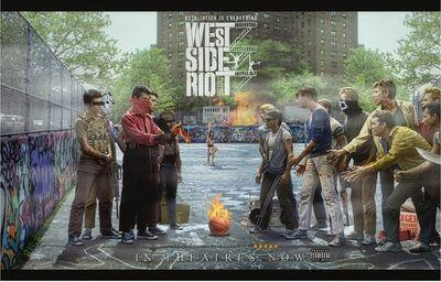 JJ Adams, 'West Side Riot', 2015