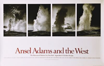 Ansel Adams, 'Ansel Adams and the West', 1979