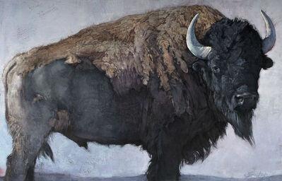 Jill Soukup, 'Bison Bull', 2019