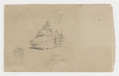 Frederic Edwin Church, 'A Goat in Pandi, Colombia', 1853