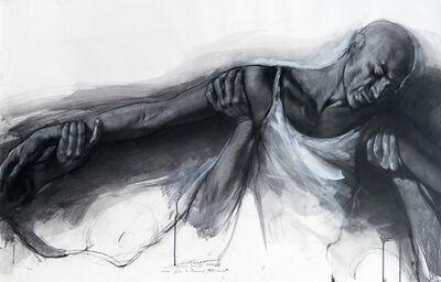Ernest Pignon-Ernest, 'Etude pour le parcours Genet', 2006