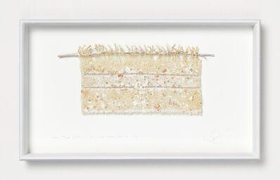 Chiyoko Tanaka, 'Mud Dyed Cloth - Twig and Mud Dots #6.6.4', 2009