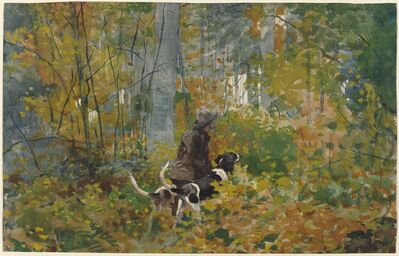 Winslow Homer, 'On the Trail', ca. 1892
