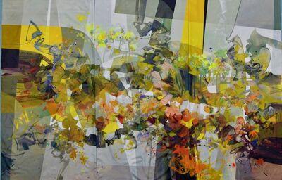 Ramon Chirinos, 'Golden Autumn, Triptych', 2019