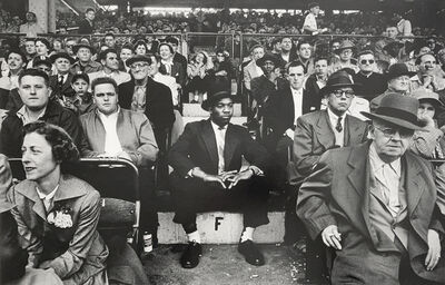 William Klein, 'F, Ebbets Field, New York', 1955