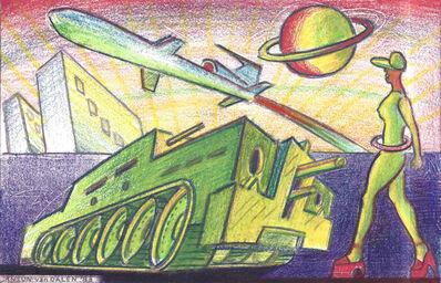 Anton van Dalen, 'Transgalactic Tank and Missile Plaza', 1983