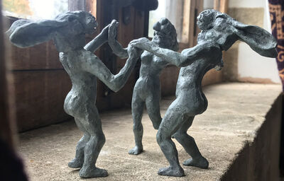 Sophie Ryder, 'Dancing Ladies, Miniature', 2017