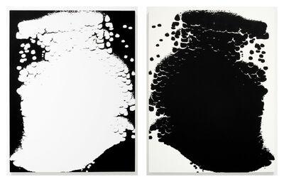Scott Short, 'Untitled (blue negative reversed) and Untitled (blue)', 2011