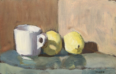 Catherine Maize, 'Cup and Two Lemons', ca. 2018